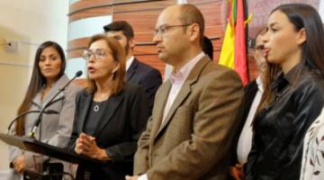 Bancada de Creemos solicita a la CIDH medidas cautelares para Añez y sus exministros