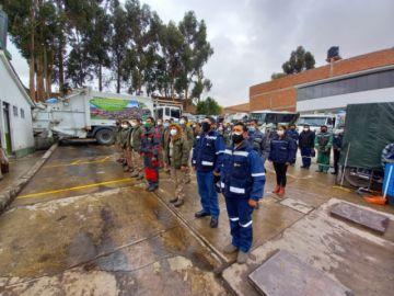 Emap destaca labor de los trabajadores de aseo en su día