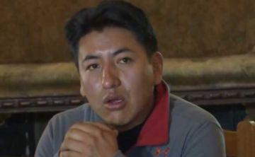 Marco Pumari asegura que no se escapará del país