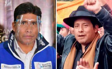 Franklin Flores va a segunda vuelta con Santos Quispe por la gobernación paceña