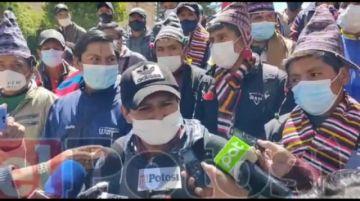 Campesinos advierten con tomar acciones si cívicos siguen convocando a movilizaciones
