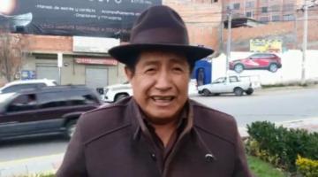Rafael Quispe se presenta ante la Policía y dice que no se escapará del país