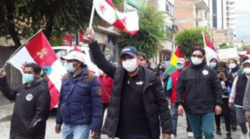"""""""Bolivia no es Venezuela"""", afirma Pumari en rechazo a la persecución política"""