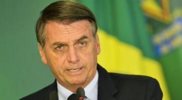 """Bolsonaro califica de """"totalmente irrazonable"""" el encarcelamiento de Jeanine Añez"""