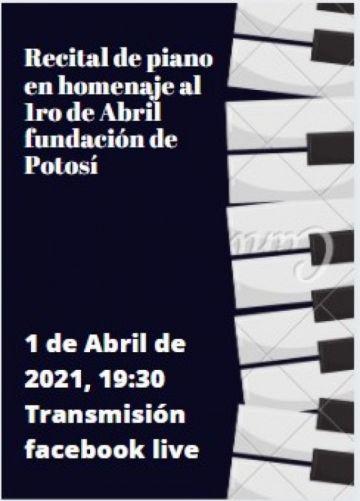 Pianistas potosinos alistan un recital virtual por el 1º de Abril