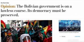 Washington Post acusa de autoritarismo a Arce y pide acciones para preservar la democracia en Bolivia