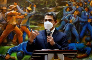Justicia de EEUU asegura que presidente de Honduras fue socio en laboratorio de cocaína