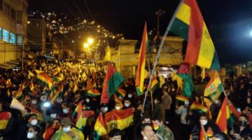 Cabildo en La Paz pide la liberación inmediata de los aprehendidos