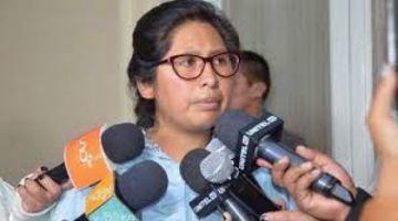 Eva Copa rechaza ir a reunión convocada por cívicos cruceños: 'tenemos diferencias abismales'