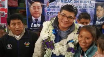 Enrique Leaño del MAS gana la Alcaldia de Sucre por 301 votos de diferencia