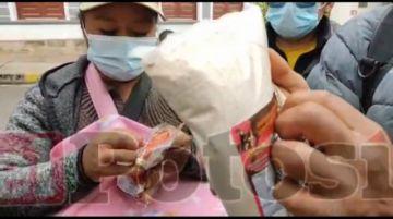 Junta escolar denuncia que recibieron desayuno escolar caduco en Yocalla