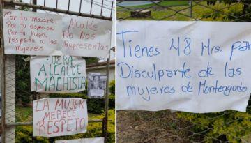 Organización de mujeres dan 48 horas al Alcalde de Monteagudo para disculparse por dichos machistas