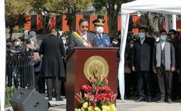 En el 23 de marzo, Luis Arce fija agenda de nueve puntos para la política marítima de Bolivia
