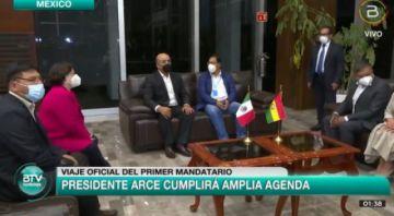 Arce viaja a México y Rodríguez anuncia que también lo hará a Chile en fecha no definida