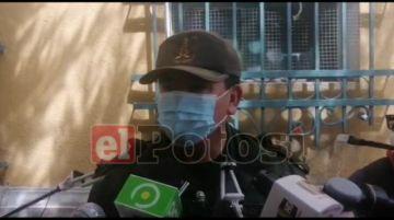 Policía en Potosí pide a cooperativistas solucionar sus problemas