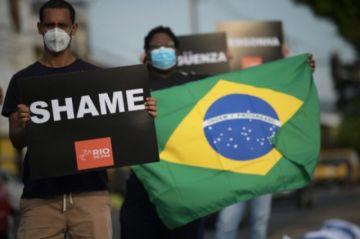 El drama de Brasil con el coronavirus se extiende a sus vecinos