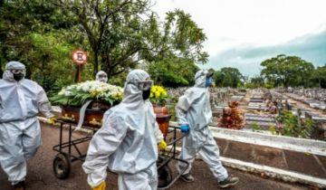 América Latina buscar frenar ola de covid mientras Brasil avanza en dos posibles vacunas