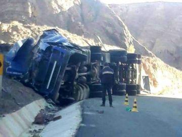 Reportan accidente de tránsito cerca de Atocha