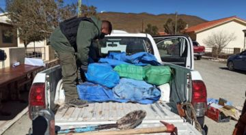 En Argentina detienen a boliviano que trasladaba casi 150 kilos de droga