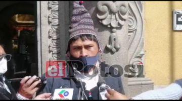 Policarpio Acarapi afirma que proyectos quedaron paralizados tras conflictos de 2019
