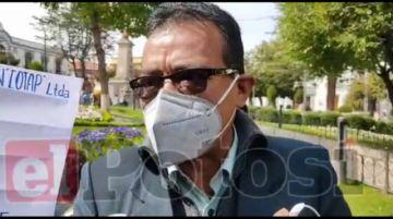 Consejeros de administración de Cotap sesionan en la calle