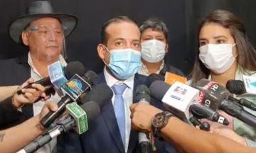 Camacho dice que 'cerrar la frontera no es el único camino' para frenar el coronavirus