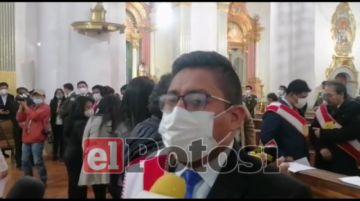 Alcalde pide continuar con el trabajo por el desarrollo de Potosí