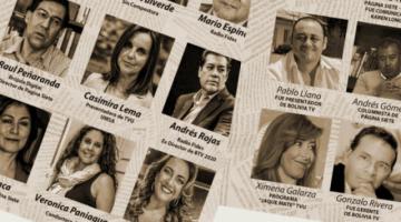 Periodistas atacados por campaña de descrédito desmienten acusaciones