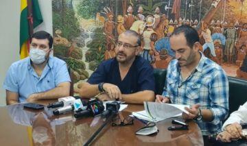 Comité cruceño dice al Gobierno 'no jueguen con fuego, se van a quemar'