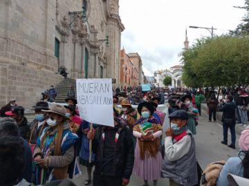 Comunarios de Jesús Valle, Karachipampa y Samasa Baja declara alerta ante amenaza de avasallamiento