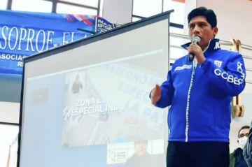 Flores acentúa su campaña por la Gobernación de La Paz