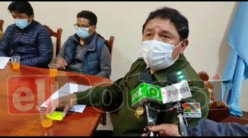 Policía intervendrá ante posible avasallamiento a Jesús Valle