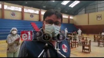 Potosí: Internan a un vacunado que consumió alcohol tras recibir la dosis