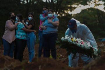América Latina y el Caribe superan los 800.000 muertos de covid-19