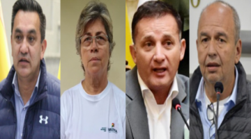 Suman cuatro exministros prófugos; MAS pide aprehensión anticipada para evitar más fugas