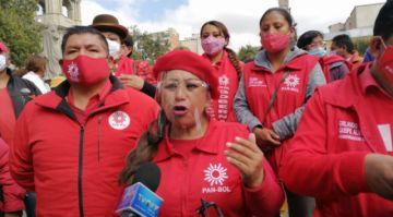 PAN-BOL anuncia su apoyo al MAS en los cuatro departamentos donde habrá balotaje