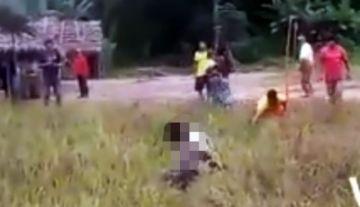 Lincharon a un hombre prendiéndole fuego en una comunidad indígena; Defensoría expresa su rechazo