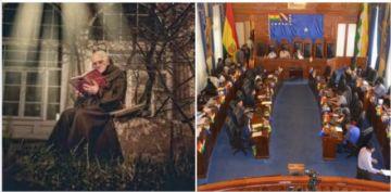 Senado rechaza propuesta de distinción al padre Eugenio Natalini