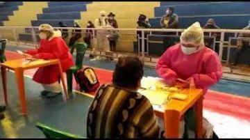 Alcaldía coordina vacunación masiva del coronavirus en Potosí