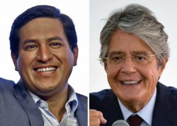 En cierres de campaña, Arauz y Lasso se centran en crisis sanitaria y económica de Ecuador