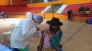 Sedes destaca alcance de campaña masiva de vacunación contra el coronavirus