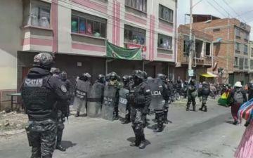 La Policía garantiza libre circulación en La Paz tras anuncio de bloqueo de cocaleros