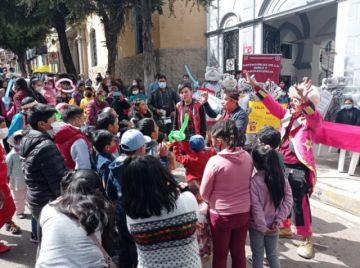 Realizan homenaje a los niños de Potosí