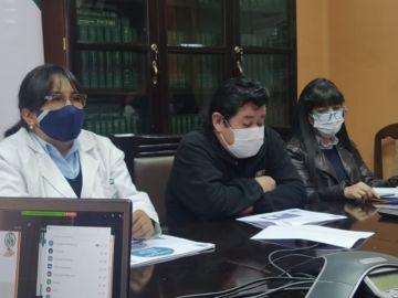 CNS en Potosí se prepara la una tercera ola de la pandemia