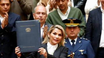 Áñez se acogió a su derecho al silencio en la declaración informativa sobre el caso del FMI