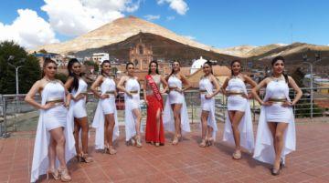 Potosí enfrenta un doble reto en el Miss Bolivia