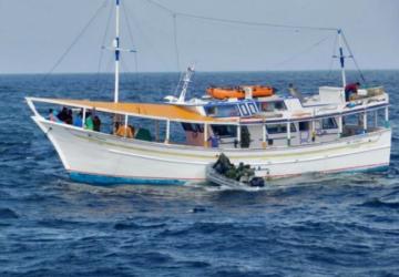 Brasil captura barco venezolano que pescaba ilegalmente en sus aguas