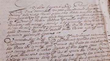 Un documento dice que Potosí comenzó a poblarse el 19 de abril de 1545