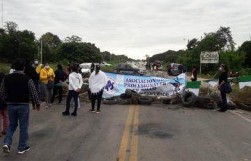 Villa Montes: Trabajadores de salud anuncian cierre de la carretera