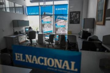"""Fallo millonario contra diario crítico del chavismo es una """"expropiación"""", dice su presidente"""